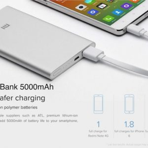 Baterija Xiaomi Mi Power Bank 2 5000mAh
