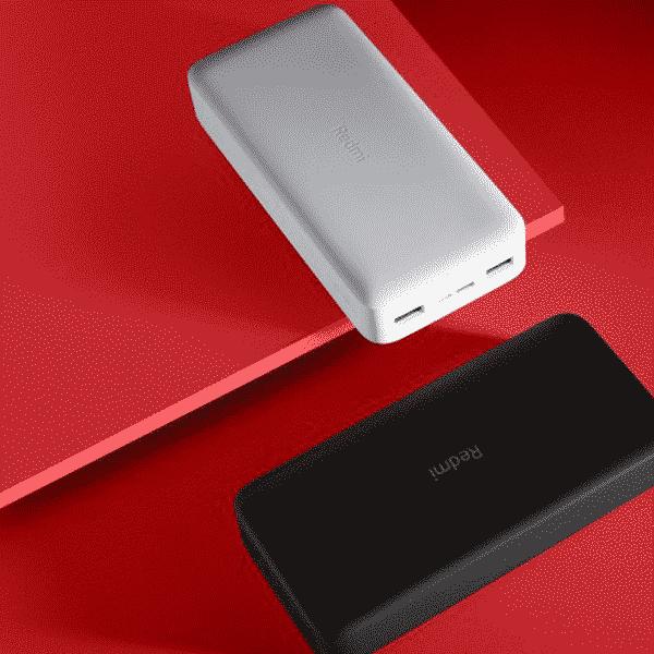 Xiaomi 20000mAh Redmi 18W Fast Charge Power Bank Black